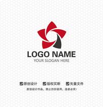 五角花瓣LOGO设计