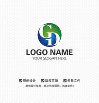 CD字母商务科技LOGO设计