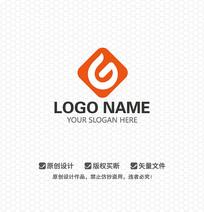 G字母电子产品LOGO设计