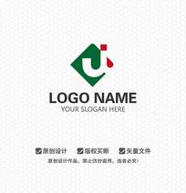 J字母文化LOGO设计