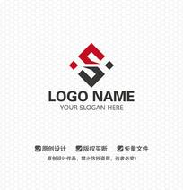 S字母文化传播LOGO设计
