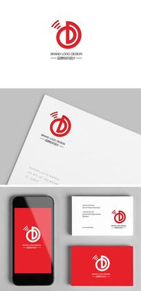 网络服务音响声音企业标志设计