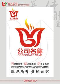 MG英文字母餐饮LOGO标志设计