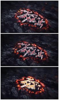 震撼logo片头视频模板