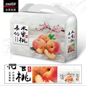 奉化水蜜桃包装礼盒