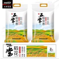五常大米包装袋包装设计