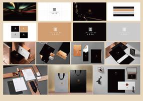 黑色质感VI设计