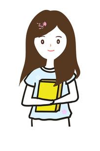 原创卡通女教师卡通女孩