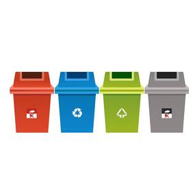 原创元素-垃圾桶