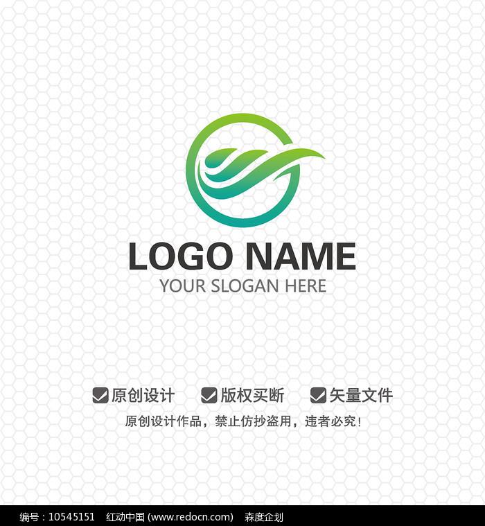 SG字母水产农林LOGO设计图片