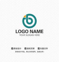 B字母金融保险LOGO设计