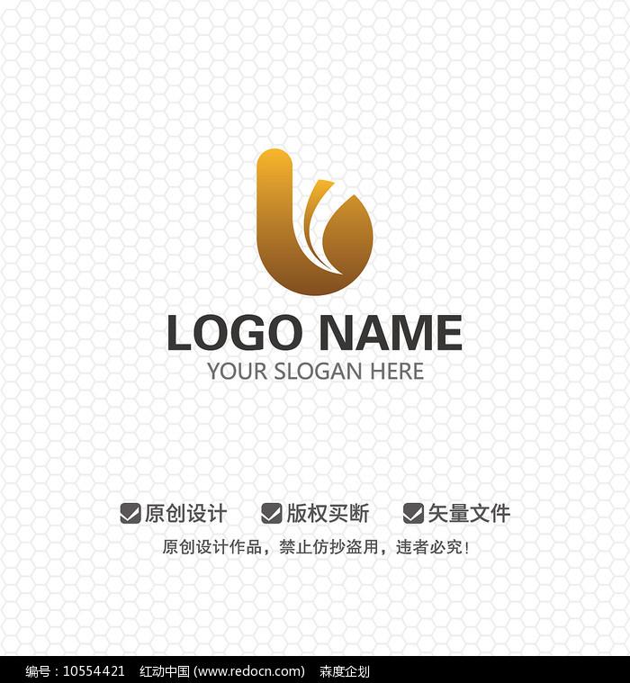 B字母商业服务LOGO设计图片