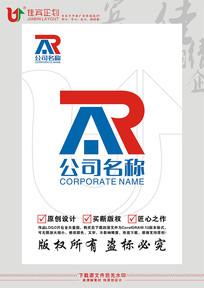 RA英文字母房屋建材房地产标志设计