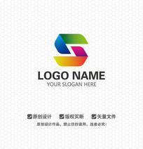 S字母时尚娱乐文化传播LOGO设计