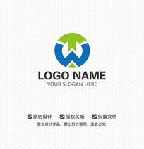 WT字母休闲娱乐LOGO设计