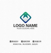 W字母休闲娱乐LOGO设计