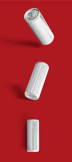 红色酒包装样机