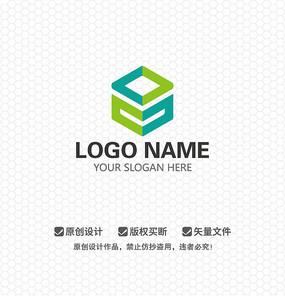 盒子简约时尚LOGO设计