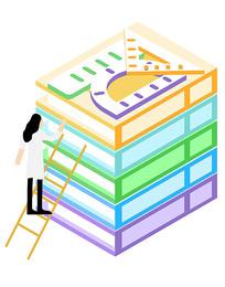 学子取书学习知识元素