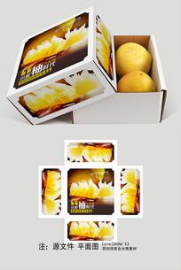 柚子天地盖包装礼盒设计