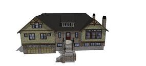 某乡村别墅模型