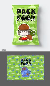 休闲食品包装袋