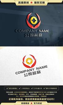金融童装理财保险标志LOGO设计