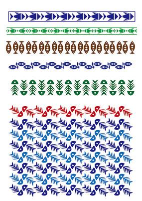 鱼线中式花纹
