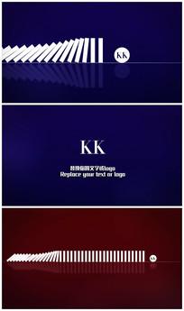 时尚logo演绎片头视频模板