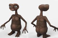 外星人人物造型模型设计