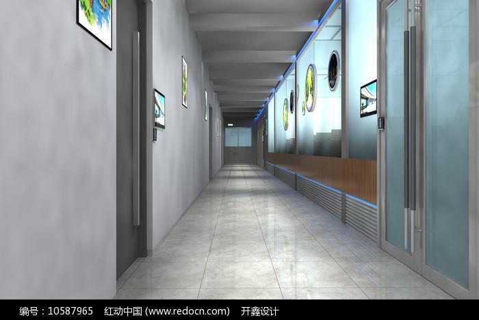 走廊设计模型图片