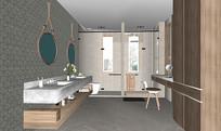 北欧浴室卫生间