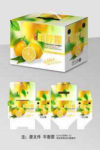 鲜柠檬包装包装礼盒
