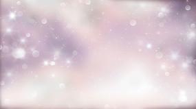 动画动态唯美梦幻粒子圆点背景视频素材