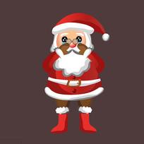 圣诞老人卡通人物设计