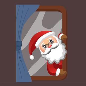 圣诞老人原创插画