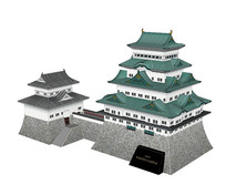sketch日本名古屋城古建筑三维模型