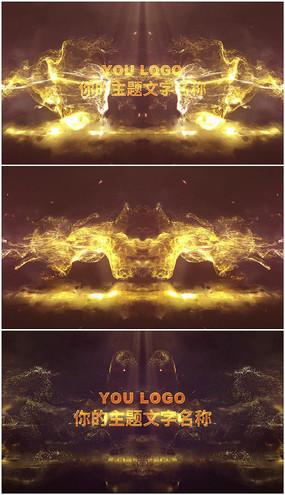 edius粒子碰撞LOGO演绎片头模板