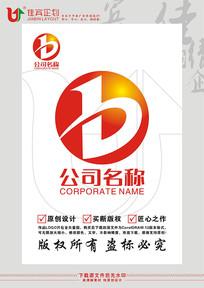 B英文字母数字标志设计