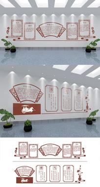 中医宣传文化墙模板