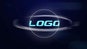 大气科技粒子LOGO片头AE模板