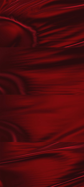红布红绸动态背景视频素材