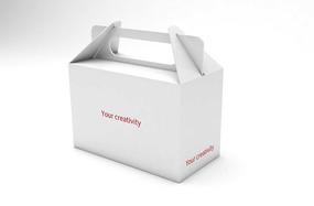 空白手提礼盒样机