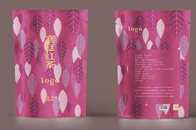 宫廷红茶包装设计