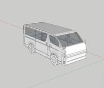 简易版面包车