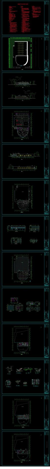汽車展廳裝修施工圖