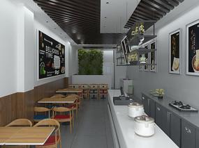 早餐店3Dmax模型
