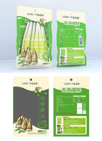 筍干食品包裝設計