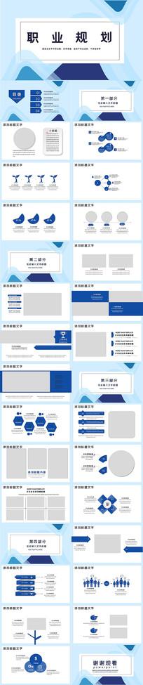 企业职业分析职业规划PPT模板