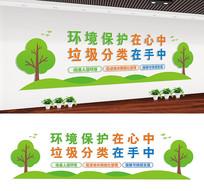 社区垃圾分类文化墙设计